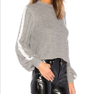 REVOLVE xl crop sweater